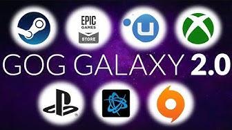Ein Launcher für all eure Spiele - Peter testet GOG Galaxy 2.0