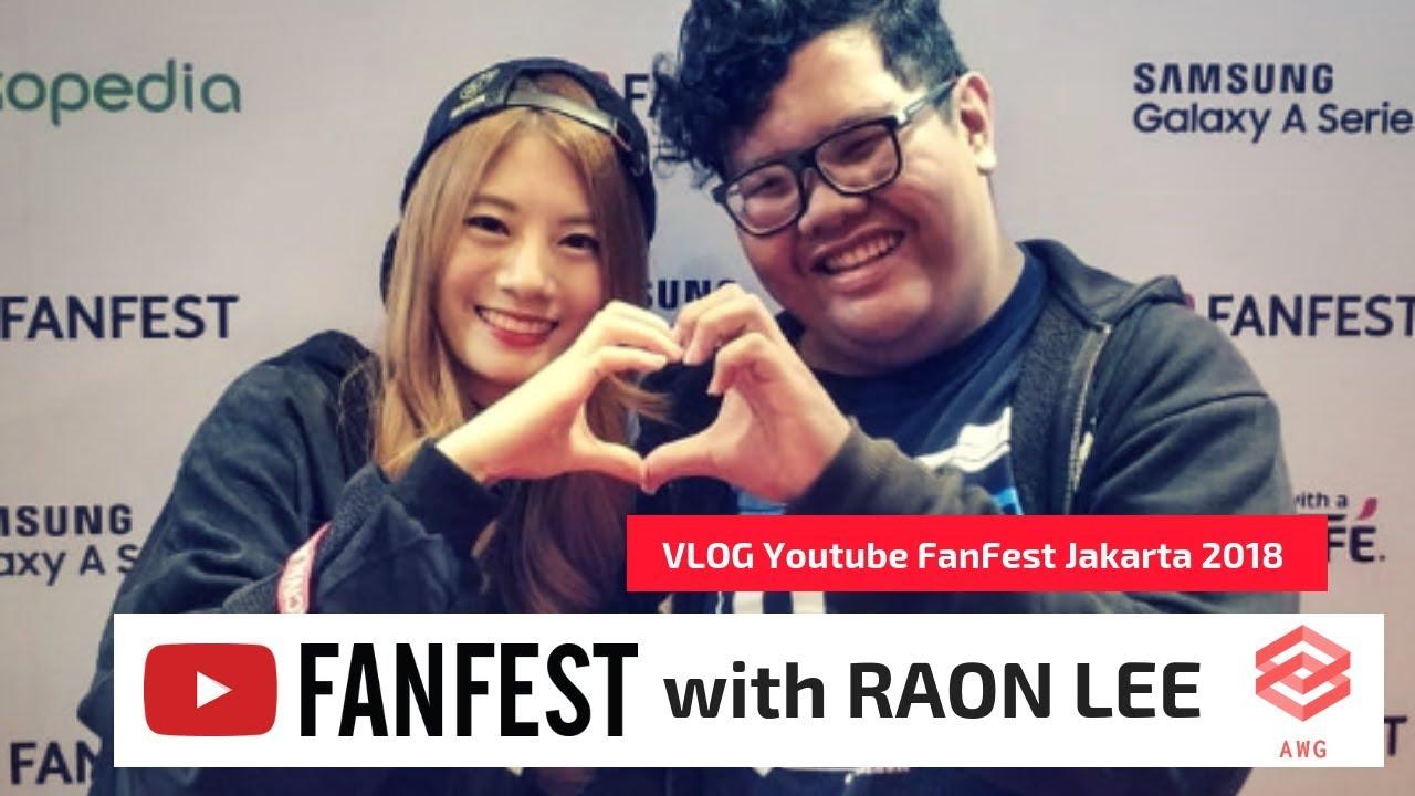 VLOG – Youtube FanFest Jakarta 2018 with RAON LEE