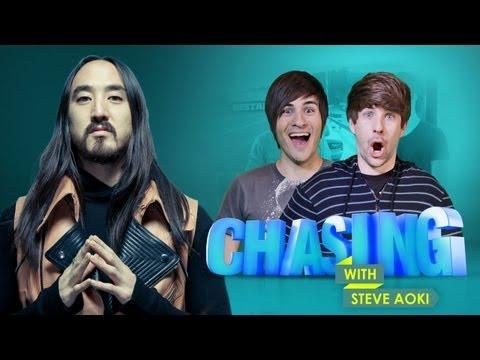 Episode 4: Smosh's Forza Horizon Challenge  CHASING with Steve Aoki