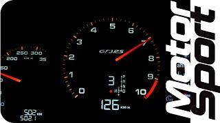 NEW Porsche 911 GT3 RS on track + SPEEDO acceleration