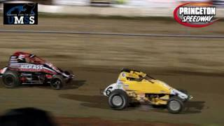 Princeton Speedway UMSS Traditional Sprint Car Highlights