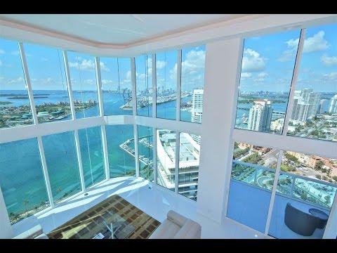 3-Story Portofino Towers Penthouse In Miami Beach, Florida