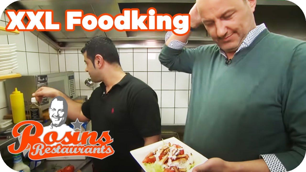 Frank ist sprachlos! XXL-Koch ist mit Salat überfordert!   2/7   Rosins Restaurants   Kabel Eins