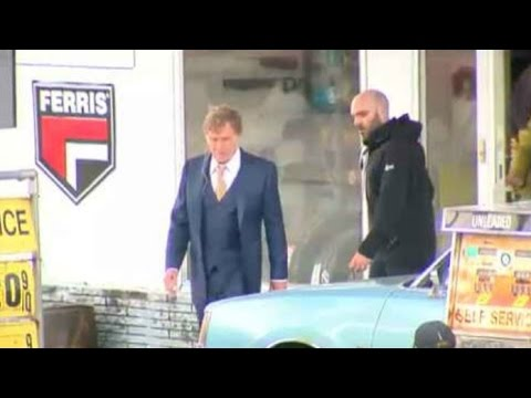 Robert Redford movie shooting at local theater and gas station