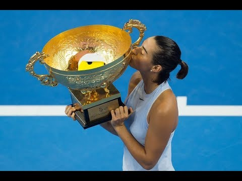 2017 China Open Final | Caroline Garcia vs Simona Halep | WTA Highlights