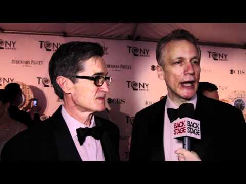 Tony Interview: Roger Rees and Rick Elice