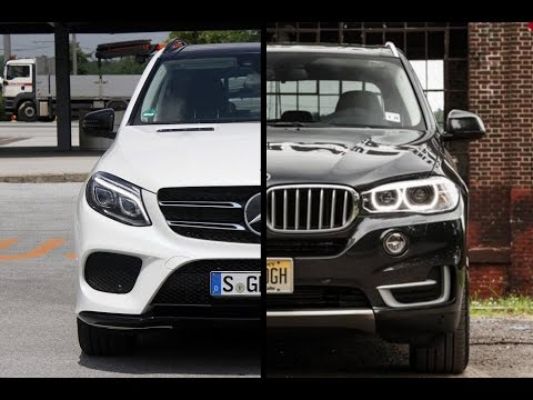 2016 Mercedes Benz Gle Class Vs Bmw X5 Youtube
