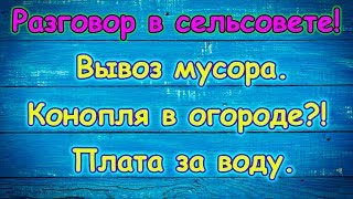 Были в сельсовете! В огороде конопля?! Диплом и др. (10.18г.) Семья Бровченко.