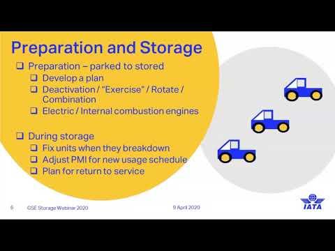 IATA GSE Storage Webinar #1