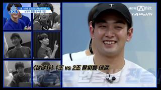 [Vietsub] - BaekHo cân team vật tay - Produce 101 ss 2 ep 5 cut