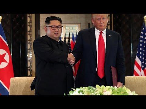 ترامب ينوي عقد قمة تاريخية ثانية مع كيم جونغ أون في 2019  - نشر قبل 59 دقيقة