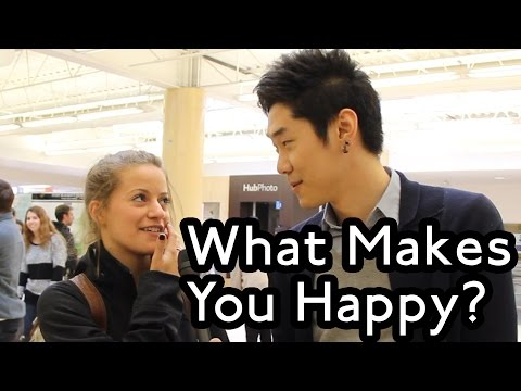 Wilfred Laurier University on Happiness - Public Interviews