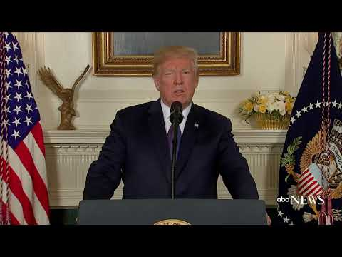 Trump orders strike on Syria in response to chemical attack