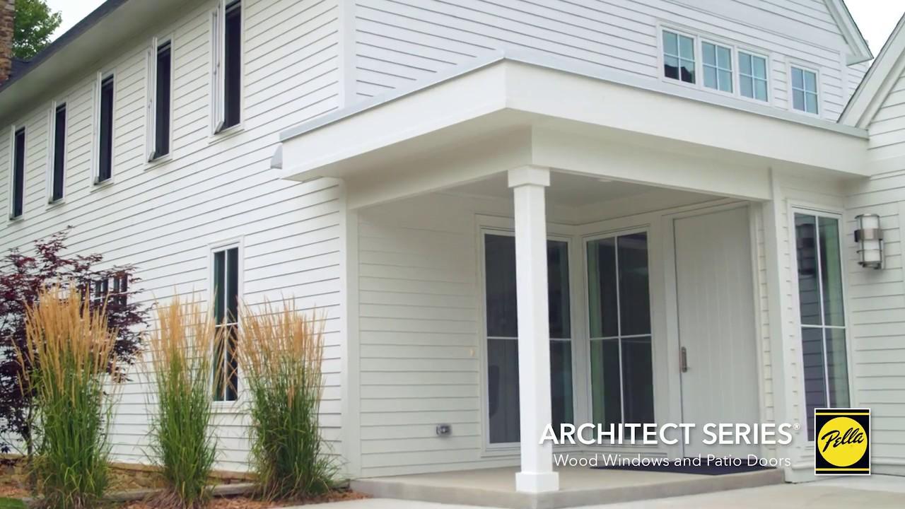 Pella Architect Series Wood Windows And Patio Doors