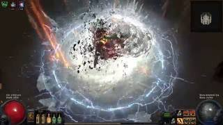 Path of Exile 2.4 Cast when damage taken Build (T9 Map w/ Elemental Reflect)