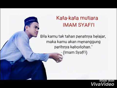 Kata Kata Mutiara Imam Syafii Youtube