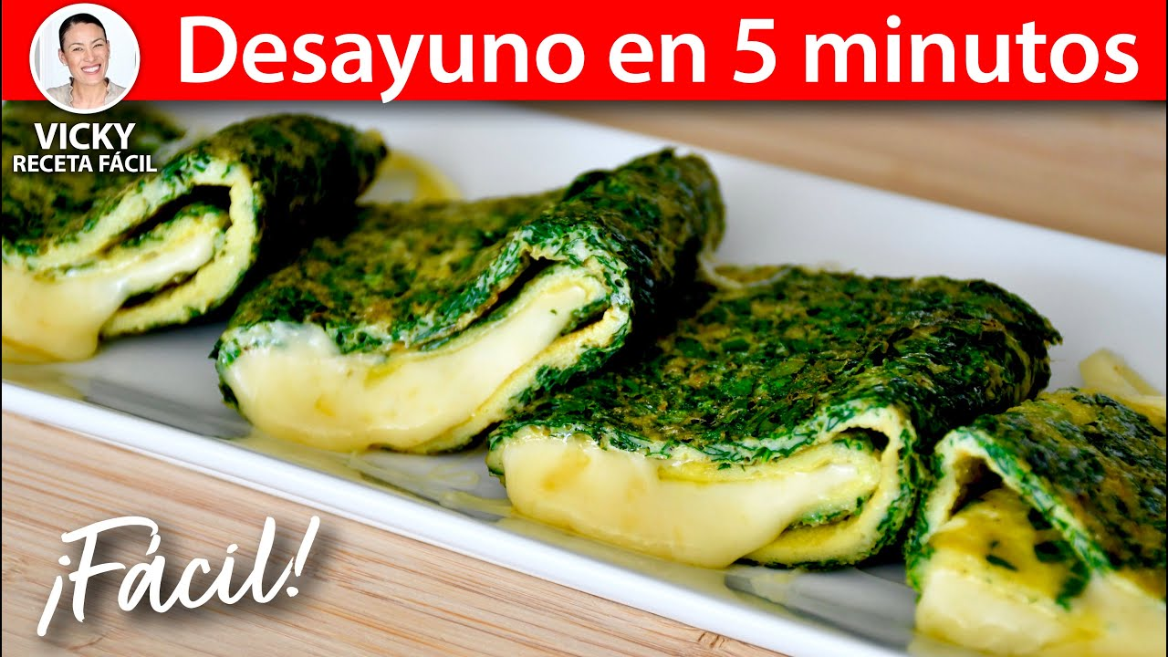Desayuno en 5 minutos | #VickyRecetaFacil