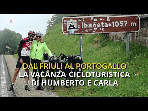 Da Udine al Portogallo, l'avventura cicloturis...