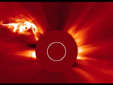 Flare Out: Massive plasma eruption from the Sun
