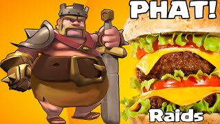 """Clash of clans PHAT RAIDS"" (Pushing back to 4,000 trophies)"