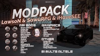 THE BEST GANG MODPACK FOR SAMP V4 by LawsoN x SawuRPG & iHaveSEE