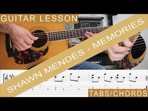 Memories Guitar Chords Shawn Mendes Khmer Chords