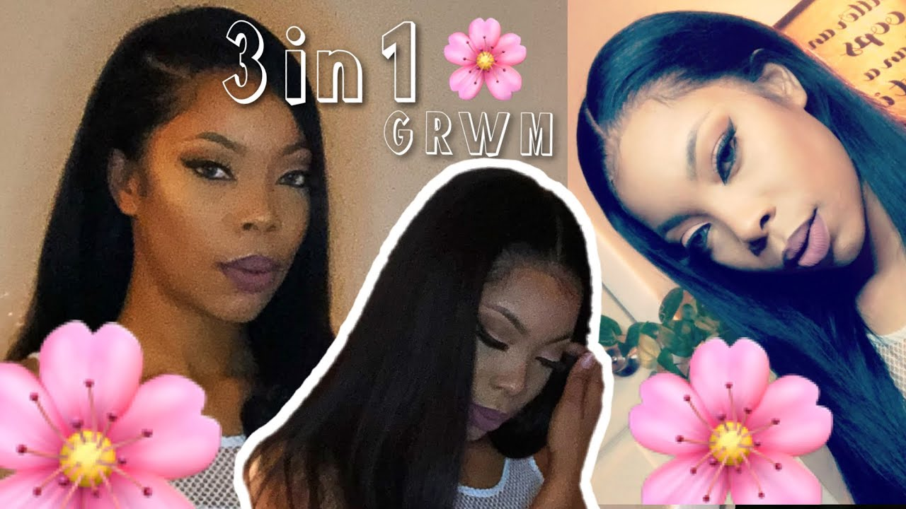 3 in 1 GRWM | Makeup Hair Outfit | Ebonique Luxe Hair