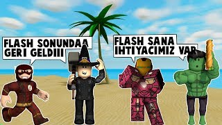85th DAY FLASH TEAM IN SUPERHEROISM IS BACK | MadCity Roleplay | Roblox English