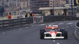 THE FAMOUS POLE OF AYRTON SENNA MONACO 1988-1.5 SEC FASTER THAN PROST
