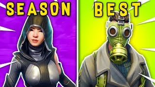 TOP 10 BEST SKINS OF FORTNITE SEASON 4. (Fortnite Battle Royale!)