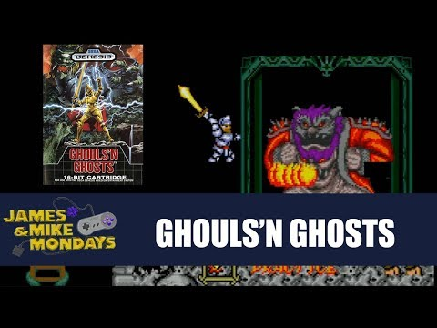 Ghouls N Ghosts (Sega Genesis) James & Mike Mondays
