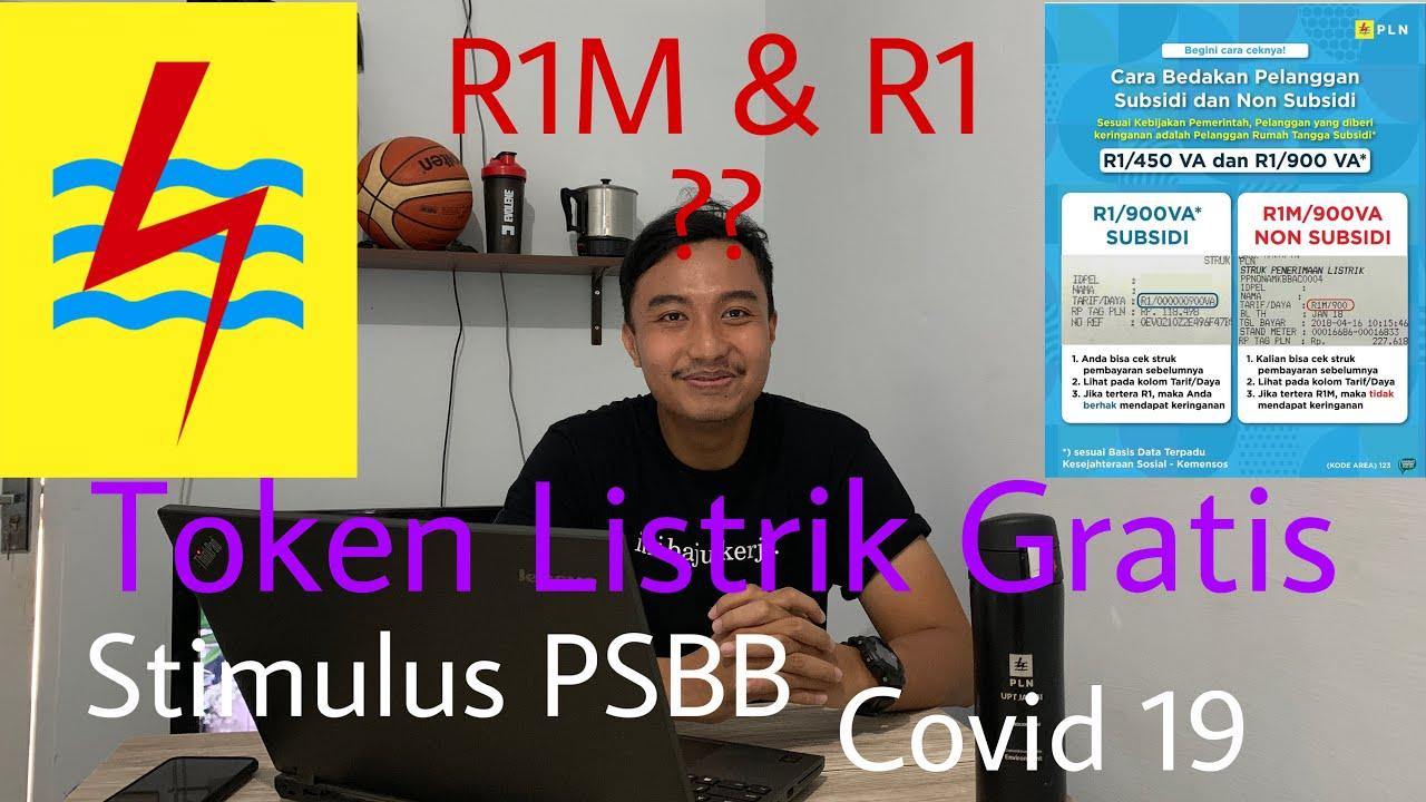 Cara dapat listrik gratis PLN || Stimulus PSBB bantuan ...