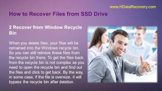 How do I Recover Deleted Photos with SSD Data Recovery Software