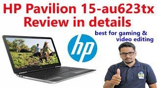 HP Pavilion-15-au623tx Laptop Review in details Hindi