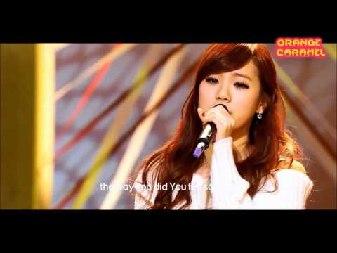 After School's Lizzy singing in English
