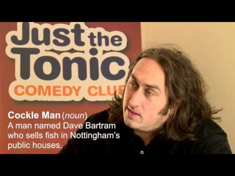 What does Ross Noble make of the Nottingham dialect?