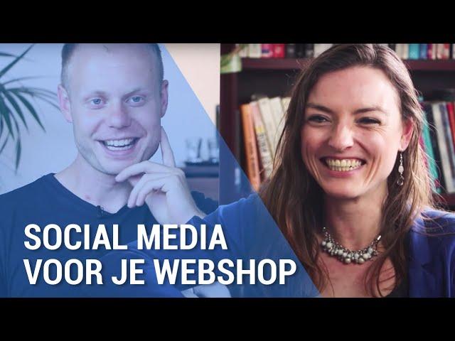 Je doelgroep bereiken via social media - Tips voor je WEBSHOP (Interview met Monique Bouwkamp)