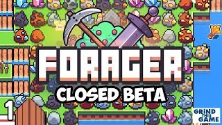 FORAGER Closed Beta 4.2 #1 - Fresh Start with Endgame Sneak peak