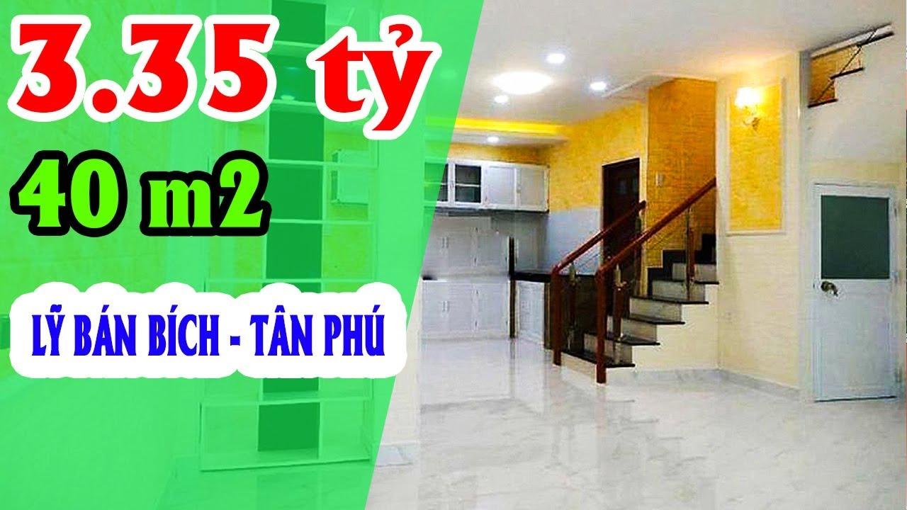 Bán Nhà Quận Tân Phú: 3,35 tỷ, Lũy Bán Bích, Hòa Thạnh, Nhà 1 trệt 1 lầu, 3 phòng ngủ, 2 WC