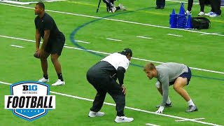 Penn State Pro Day: Watch The Individual Player Work Outs   Big Ten Football In The 2021 NFL Draft