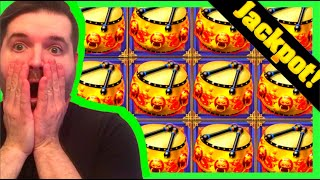 AS SOON AS I SAID IT... IT HAPPENED! A MASSIVE JACKPOT HAND PAY on The NEW Dancing Drums EXPLOSION