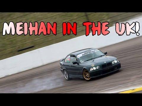 Meihan Track in the UK ! Drift day #8 @ Rockingham Drift Days