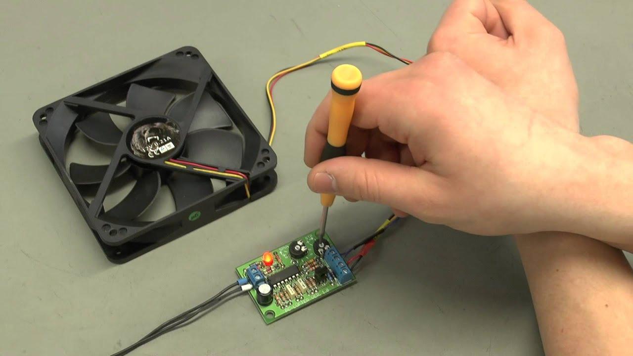 Pollin Bausätze: PC-Lüftersteuerung (Pollin Artikelnummer 810243 ...