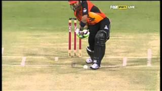 Scorchers v Thunder - Nearly Nannes
