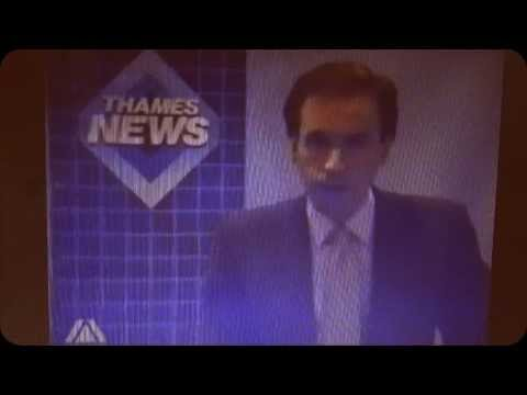 The news report on the death of Gary Holton - 21 December 1985