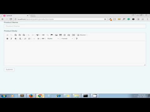 How To Install And Use CKEditor In Laravel - YouTube