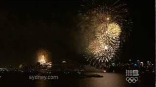 "HAPPY NEW YEAR 2012 SYDNEY AUSTRALIA ♥  Nine O'Clock Fireworks""children's"" edition"