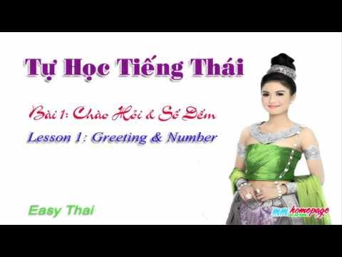 Giáo trình Thai for beginners  bài 1