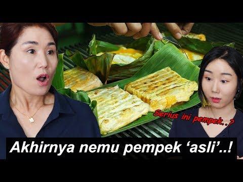 Cabe mama datang ke Palembang untuk coba pempek asli!!