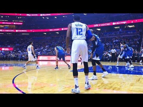 Floor Seats at an Orlando Magic Basketball Game!